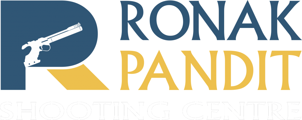 Ronak Pandit Shooting Centre Logo